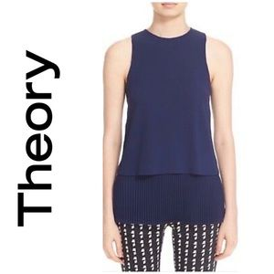 🆕 Theory Winslow Crepe Blouse